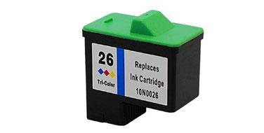 Совместимый картридж Lexmark 10N0026 цветной