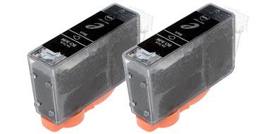 Двойная уп. совместимых картриджей Canon BCI-3eBK Twi 4479A287 черный