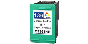 Совместимый картридж HP 136 C9361HE цветной