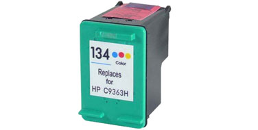 Совместимый картридж HP 134 C9363HE цветной
