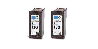 Двойная упаковка совместимых картриджей HP 130 Twin C9504HE черный