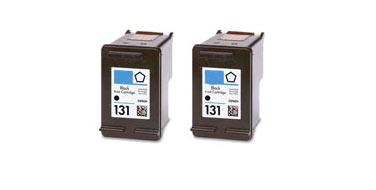 Двойная упаковка совместимых картриджей HP 131 Twin CB331HE черный