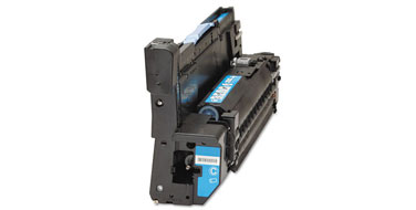 Совместимый фотобарабан HP CB385A №824C голубой