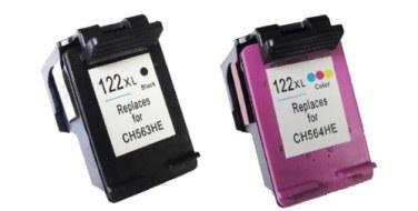 Набор совместимых картриджей HP 122XL Bk+Col CR340HE черный + цветной