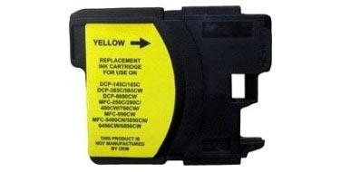 Совместимый картридж Brother LC-980Y желтый