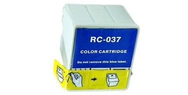 Совместимый картридж Epson T037 C13T03704010 голубой+пурпурный+желтый