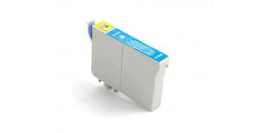 Совместимый картридж Epson 17XL C C13T17124A10 голубой