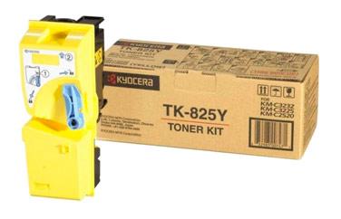 Оригинальный картридж TK-825Y