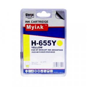 Совместимый картридж MyInk 655 Y CZ112AE