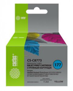 Совместимый картридж Cactus CS-177Y C8773HE