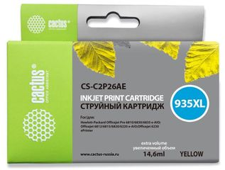 Совместимый картридж Cactus CS-C2P26AE №935XL