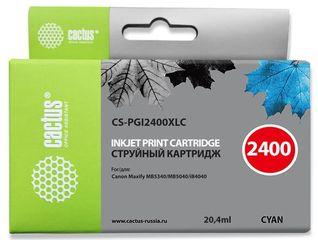 Совместимый картридж Cactus CS-PGI-2400XLC