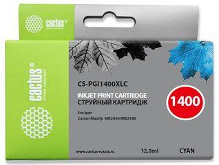 Совместимый картридж Cactus CS-PGI-1400XLC