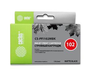 Совместимый картридж Cactus CS-PFI-102MBK