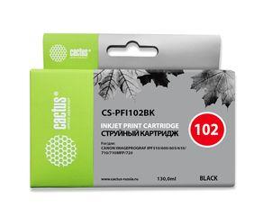 Совместимый картридж Cactus CS-PFI-102BK