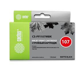Совместимый картридж Cactus CS-PFI-107MBK