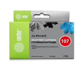 Совместимый картридж Cactus CS-PFI-107C