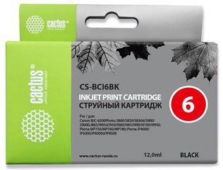Совместимый картридж Cactus CS-BCI-6BK 4705A002