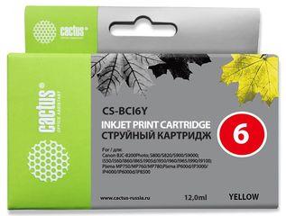 Совместимый картридж Cactus CS-BCI-6Y 4708A002