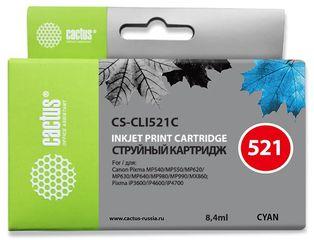 Совместимый картридж Cactus CS-CLI-521C 2934B004