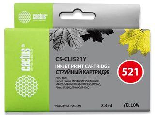 Совместимый картридж Cactus CS-CLI-521Y 2936B004