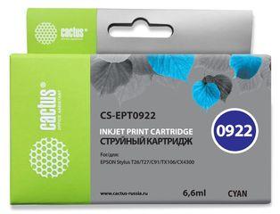 Совместимый картридж Cactus CS-T0922 C13T09224A10
