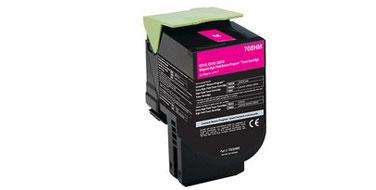 Совместимый картридж Lexmark 70C8HM0 708MC пурпурный