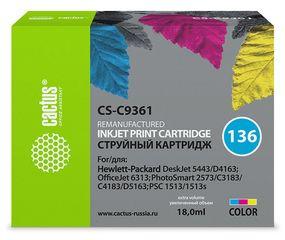 Совместимый картридж Cactus CS-136 C9361HE