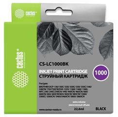 Совместимый картридж Cactus CS-LC-1000BK