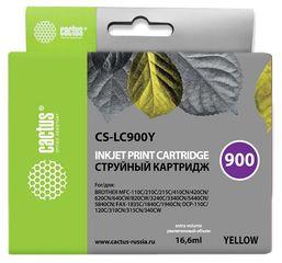 Совместимый картридж Cactus CS-LC-900Y