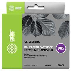 Совместимый картридж Cactus CS-LC985BK