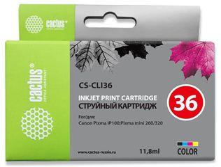 Совместимый картридж Cactus CS-CLI-36