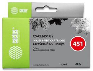 Совместимый картридж Cactus CS-CLI-451GYXL 6476B001