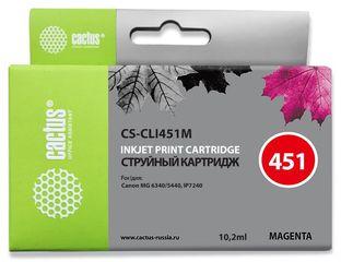 Совместимый картридж Cactus CS-CLI-451MXL 6474B001