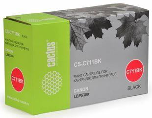 Совместимый картридж Cactus CS-C711BK