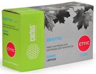 Совместимый картридж Cactus CS-C711C