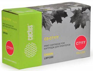 Совместимый картридж Cactus CS-C711Y