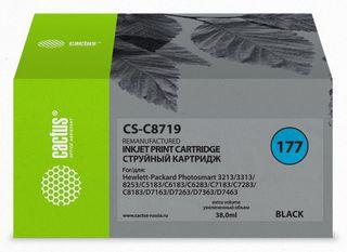 Совместимый картридж Cactus CS-177XL Bk C8719HE