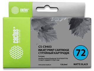 Совместимый картридж Cactus CS-72MBk C9403A