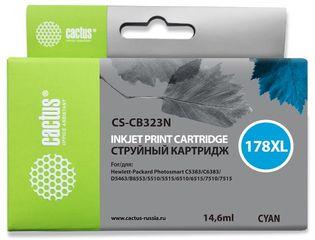 Совместимый картридж Cactus CS-178XL C CB323HE