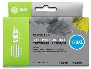 Совместимый картридж Cactus CS-178XL Y CB325HE