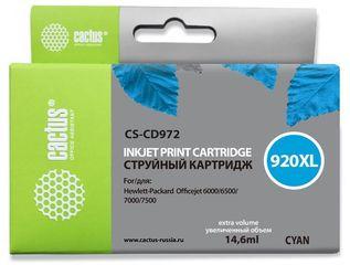 Совместимый картридж Cactus CS-920XL C CD972AE