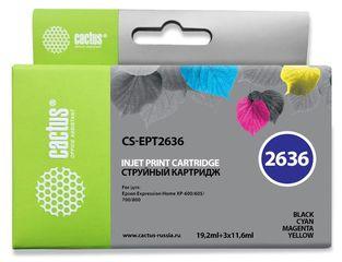 Набор совместимых картриджей Cactus CS-26XLMP C13T26364010
