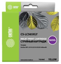 Совместимый картридж Cactus CS-LC565XLY