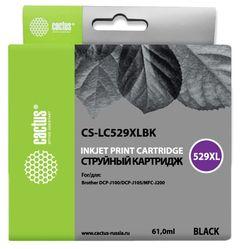 Совместимый картридж Cactus CS-LC529XLBK