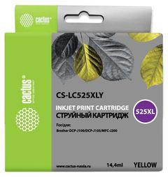 Совместимый картридж Cactus CS-LC525XLY