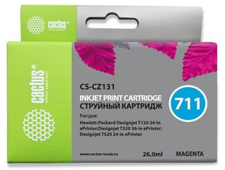 Совместимый картридж Cactus CS-711M CZ131A