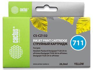 Совместимый картридж Cactus CS-711Y CZ132A