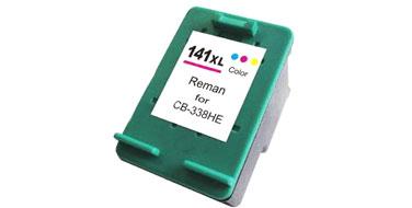 Совместимый картридж HP 141 XL CB338HE цветной