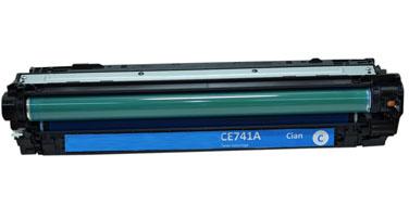 Оригинальный картридж CE741A 307C
